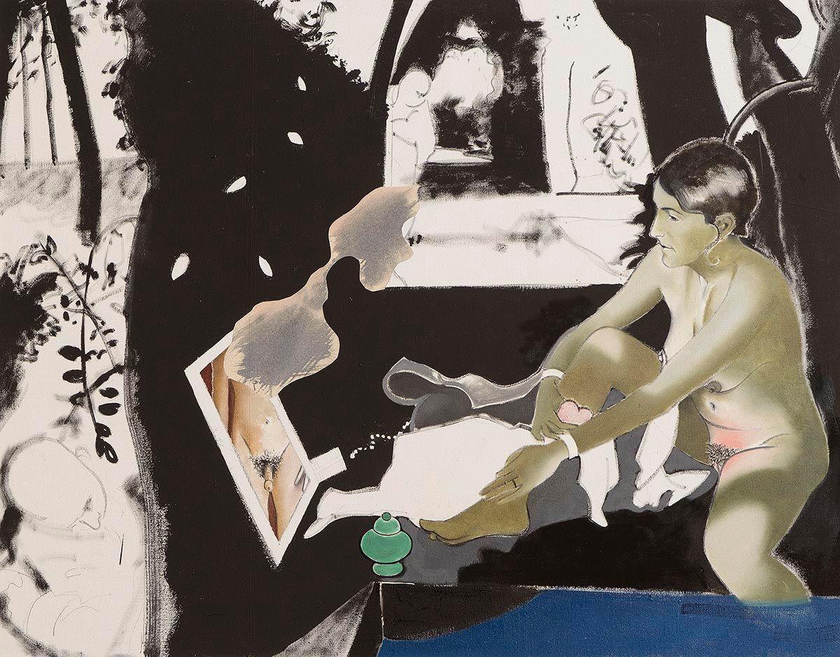 Michael Farrell, La Ruche, étude at Morgan O'Driscoll Art Auctions