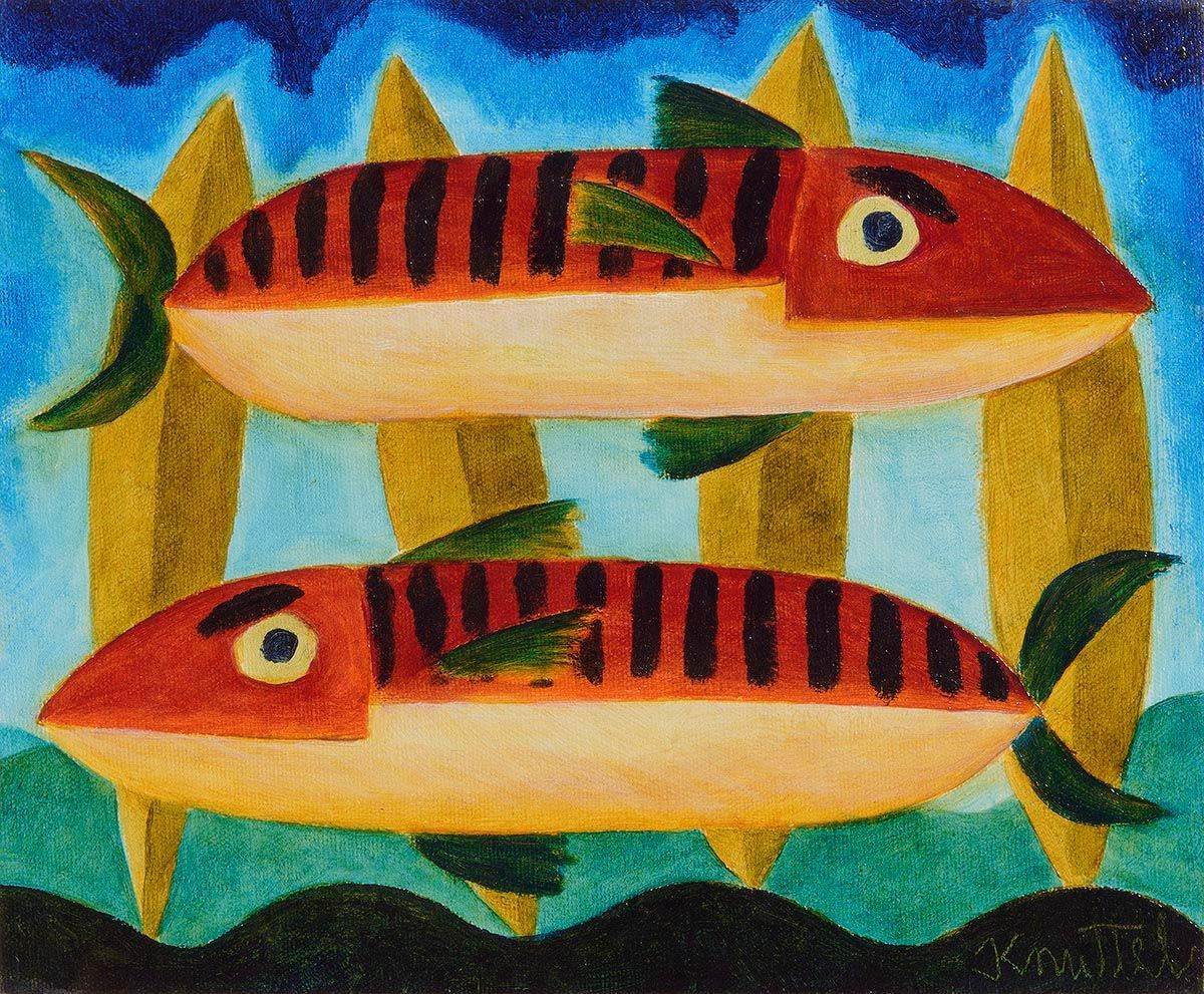Graham Knuttel, Fish Study at Morgan O'Driscoll Art Auctions