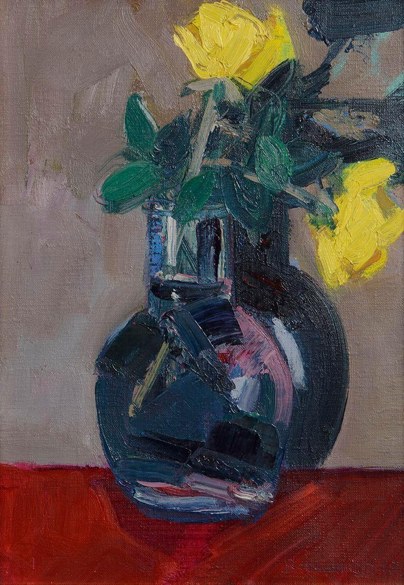 Brian Ballard, Two Yellow Roses at Morgan O'Driscoll Art Auctions
