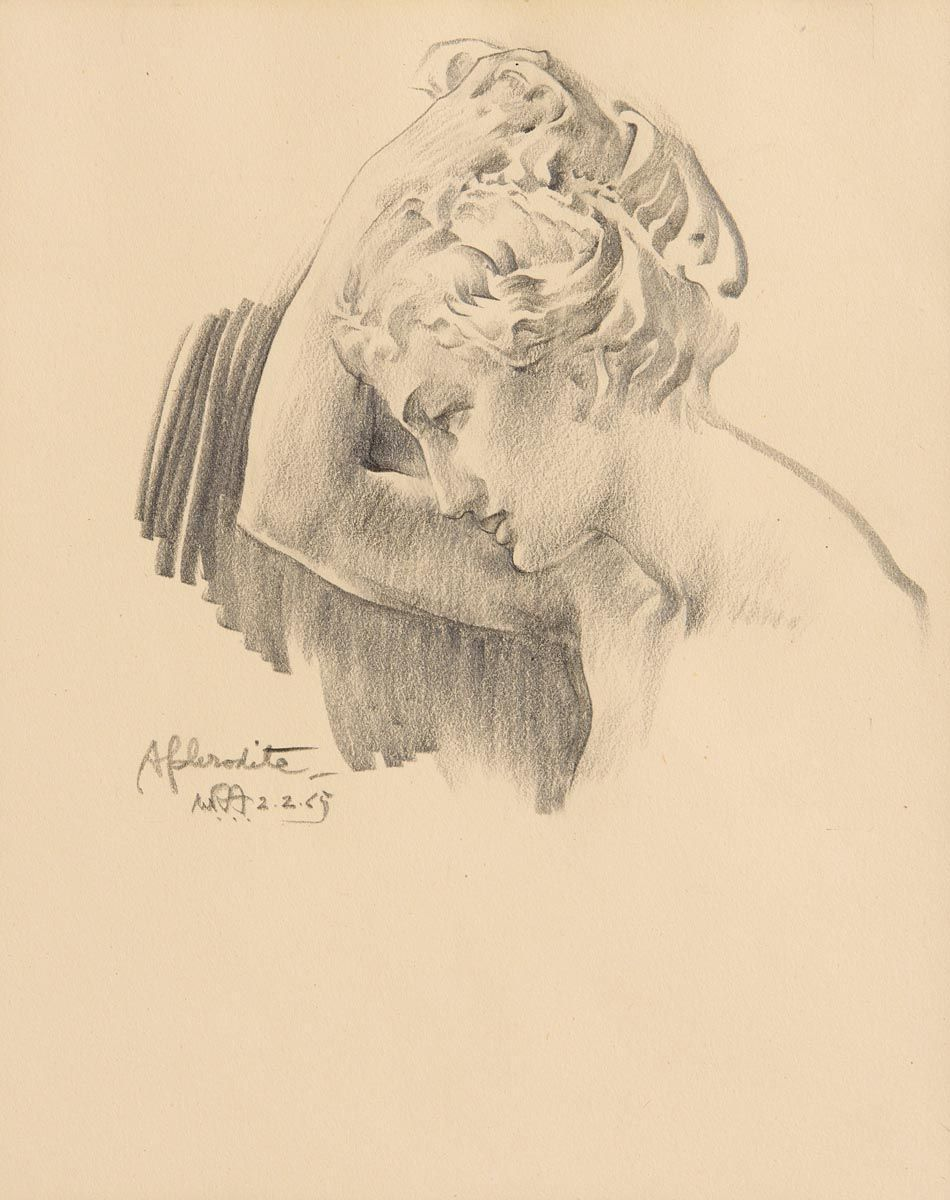 Sir William Russell Flint, Aphrodite (1965) at Morgan O'Driscoll Art Auctions
