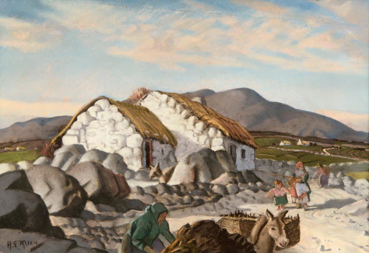 Harry Epworth Allen-(1894年-1958年)英國畫家。他是二十世紀最具特色的風景翻譯之一。 - ☆平平.淡淡.也是真☆  - ☆☆milk 平平。淡淡。也是真 ☆☆