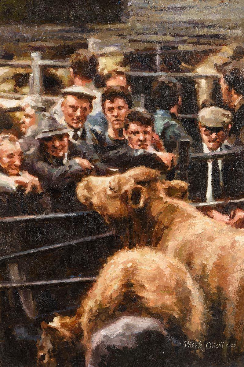 Mark O'Neill, The Mart (2005) at Morgan O'Driscoll Art Auctions