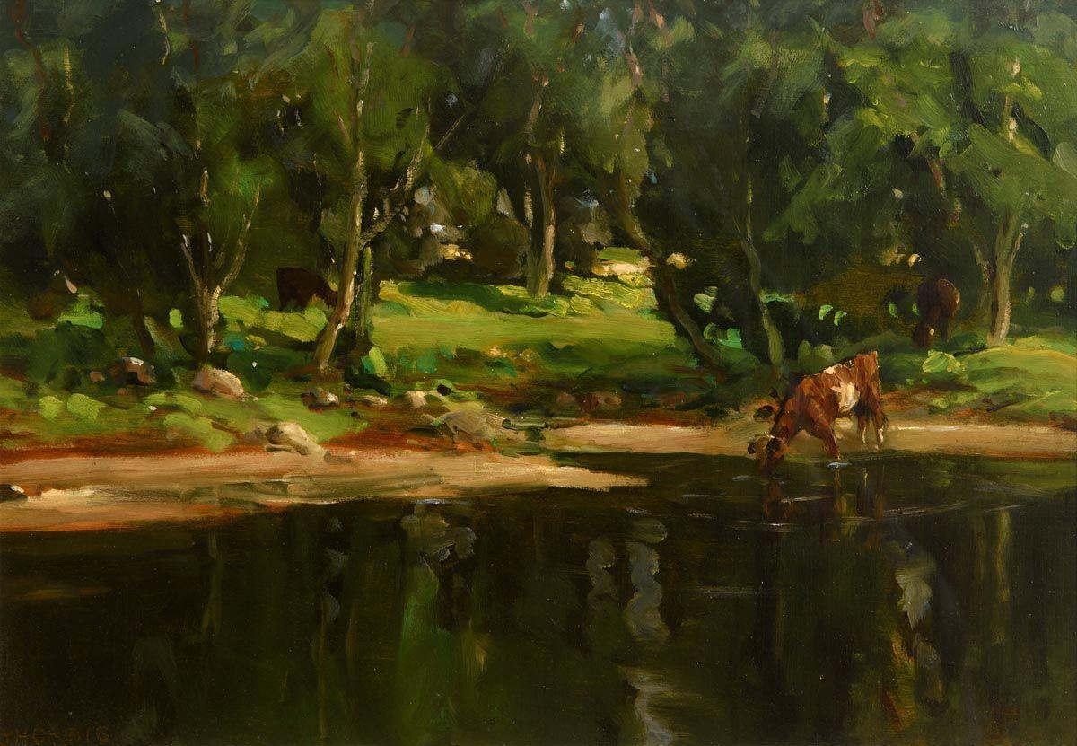 James Humbert Craig, River Dun, Cushendun at Morgan O'Driscoll Art Auctions