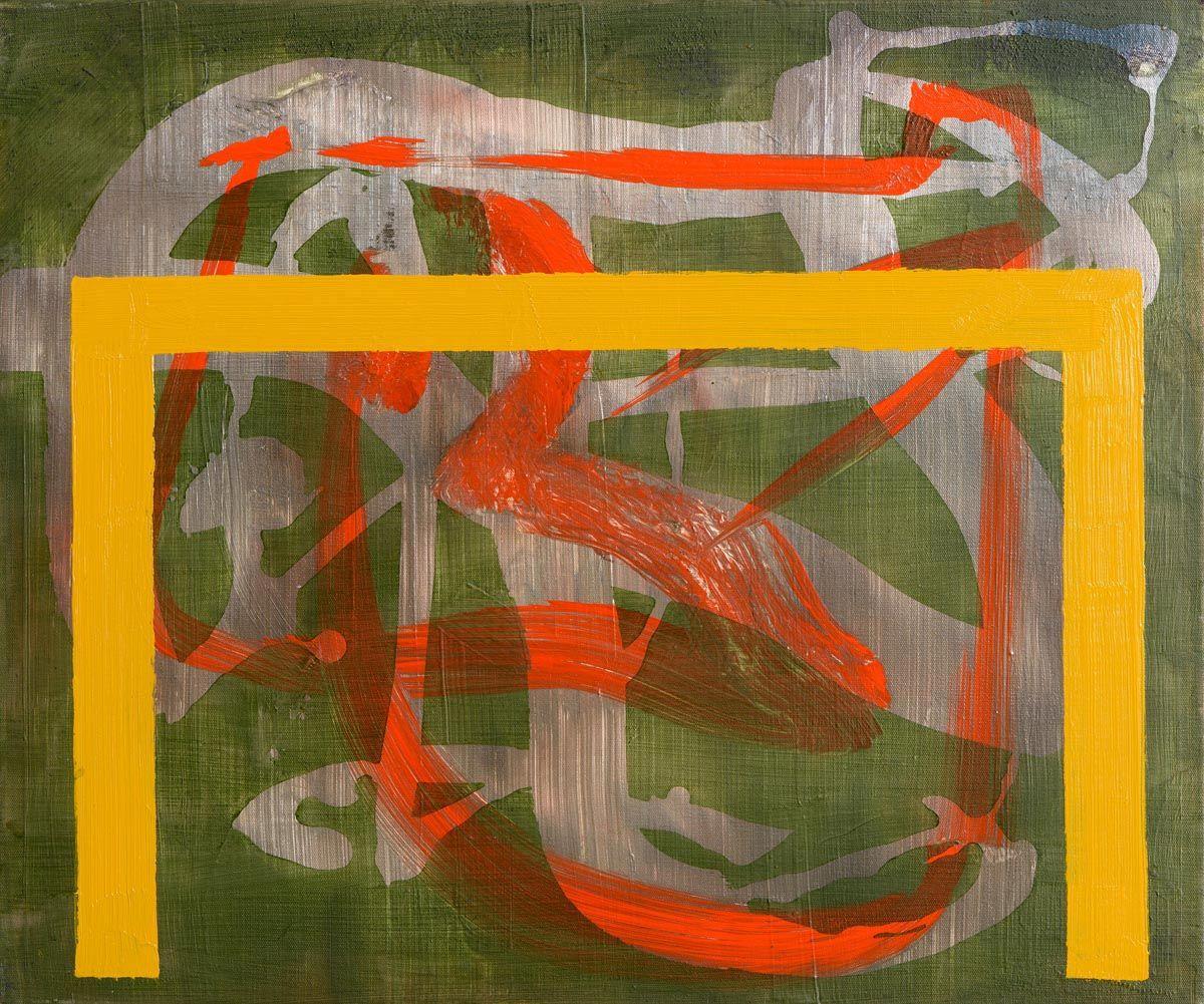 Maurice Cockrill, Pastoral, Bridge Series (2003) at Morgan O'Driscoll Art Auctions