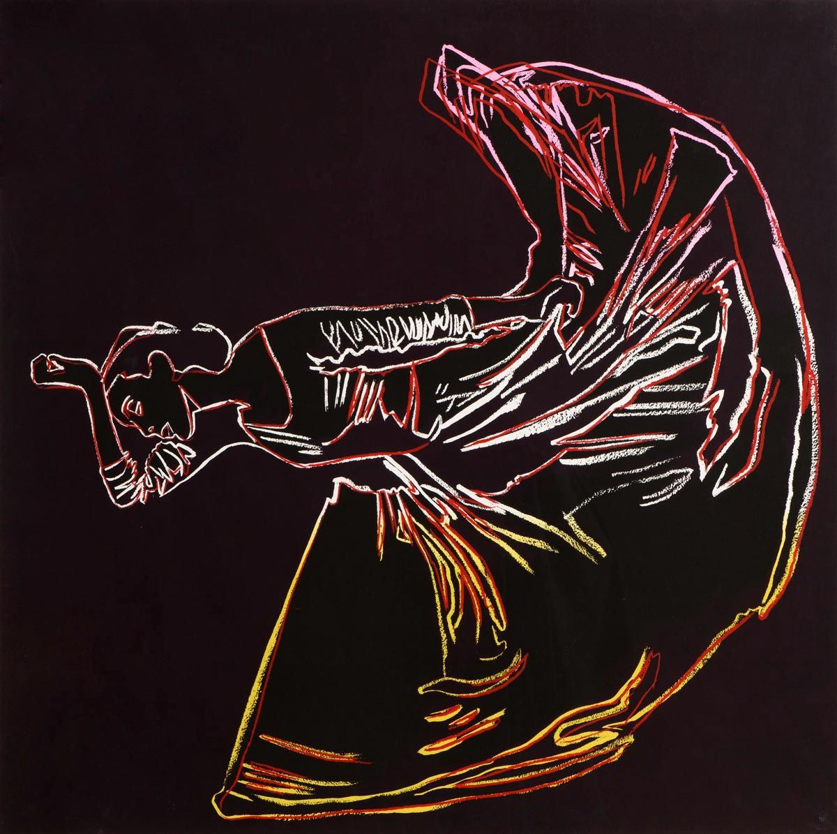 Andy Warhol, Martha Graham: Letter to the World (The Kick) (1986) at Morgan O'Driscoll Art Auctions