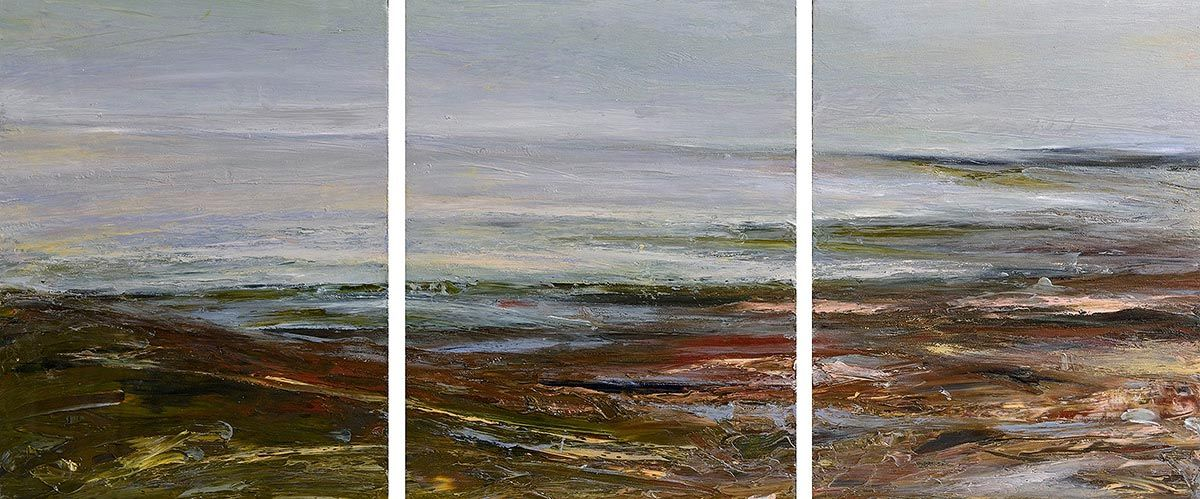Mary Lohan, Beach Morning Time, Co. Mayo (1999) at Morgan O'Driscoll Art Auctions