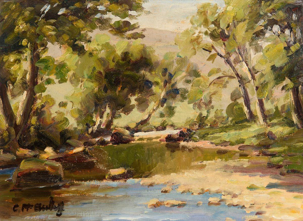 Charles J. McAuley, River Dun, Co. Antrim at Morgan O'Driscoll Art Auctions