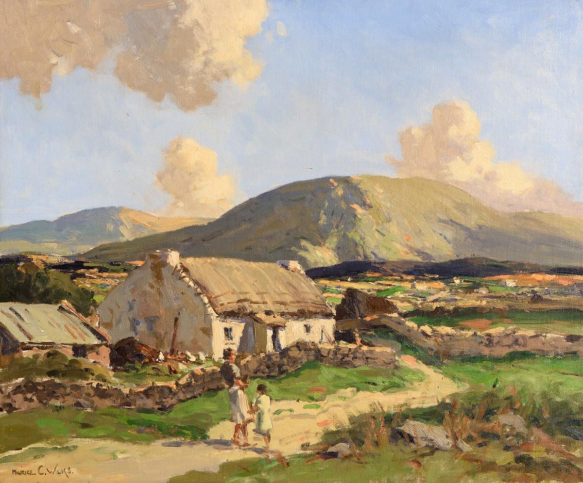 Maurice Canning Wilks, Near Doochary, Co. Donegal at Morgan O'Driscoll Art Auctions