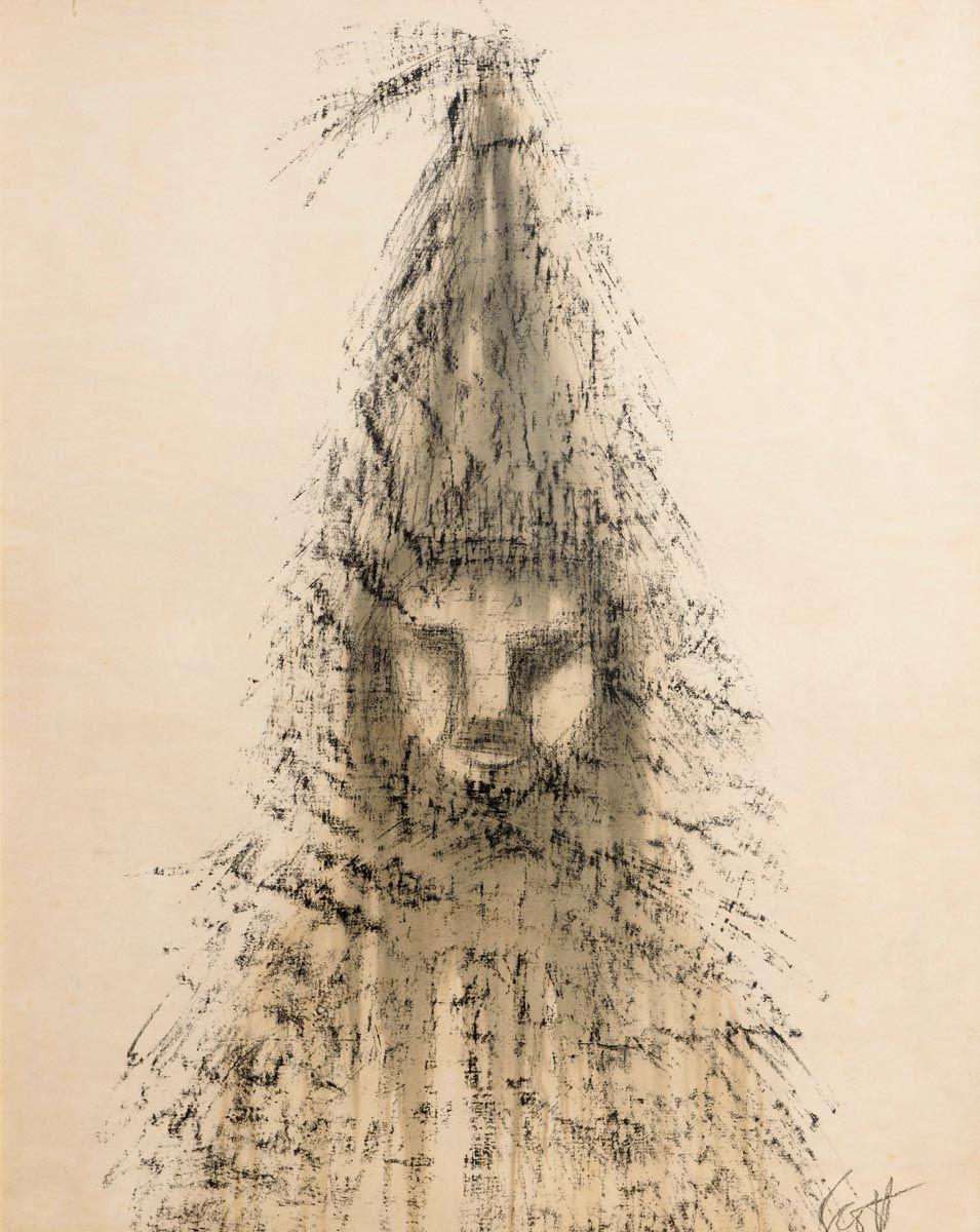 Patrick Scott, Straw Man (c.1950) at Morgan O'Driscoll Art Auctions