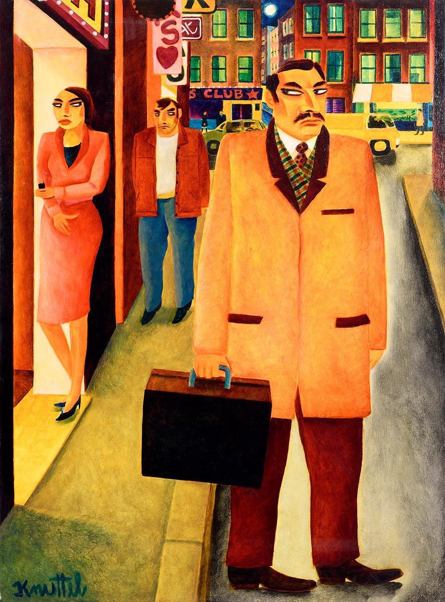 Graham Knuttel, The Boss at Morgan O'Driscoll Art Auctions