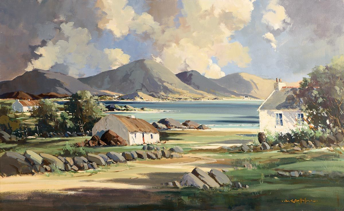 George Gillespie, Lough Anure, Co. Donegal at Morgan O'Driscoll Art Auctions