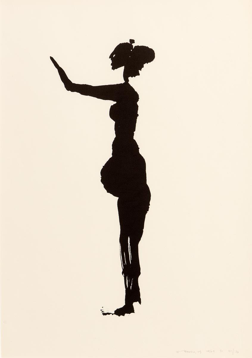 Louis Le, The Tain - Macha Pleading (1969) at Morgan O'Driscoll Art Auctions