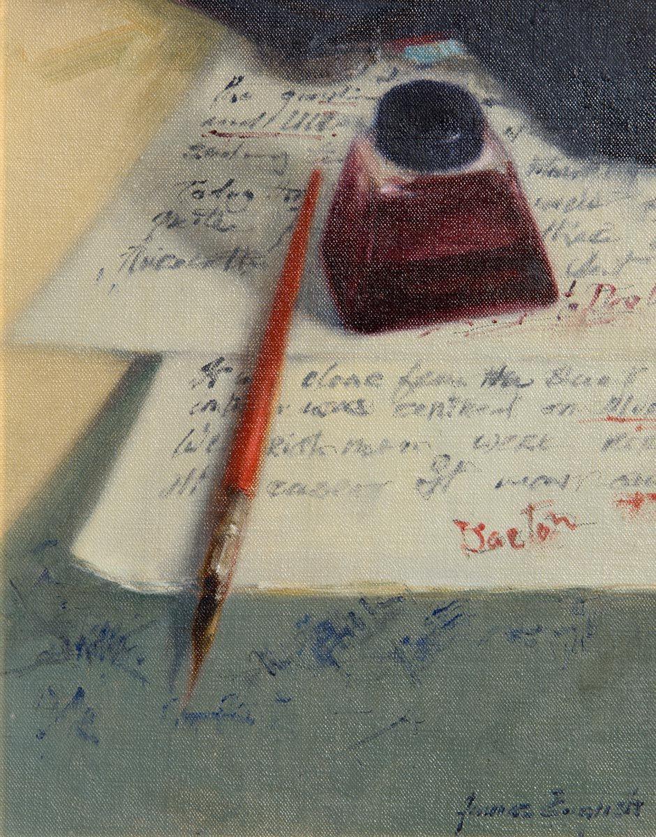 James English, Lecture Notes at Morgan O'Driscoll Art Auctions