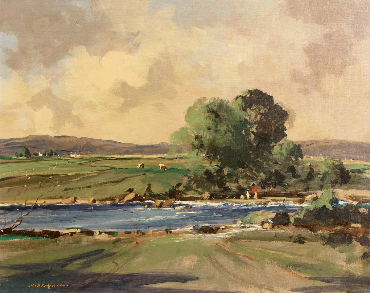 George Gillespie, River Derg, Co Tyrone at Morgan O'Driscoll Art Auctions