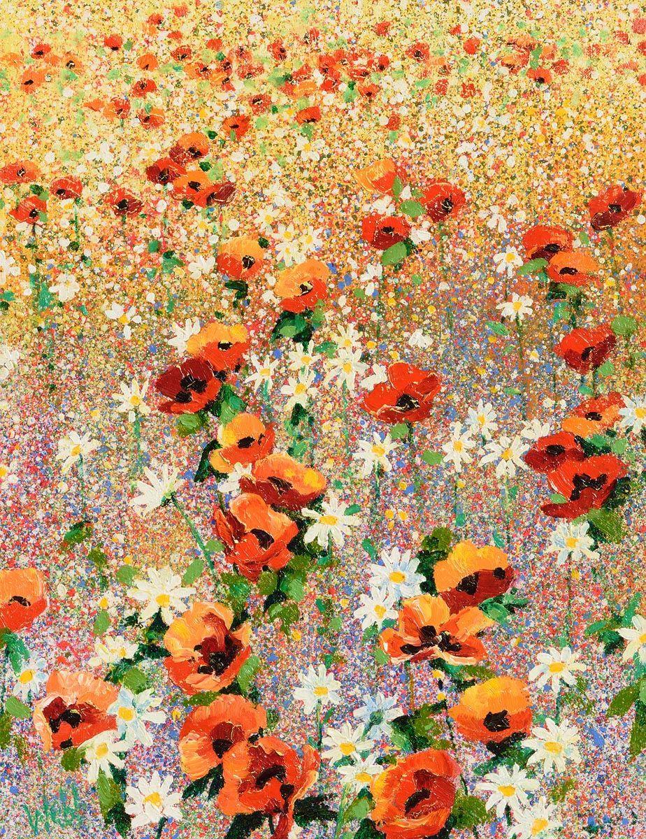 Kenneth Webb, Poppy Meadow at Morgan O'Driscoll Art Auctions