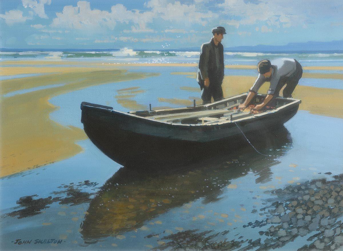 John Skelton, Keem Strand, Achill Island, Co. Mayo (1993) at Morgan O'Driscoll Art Auctions