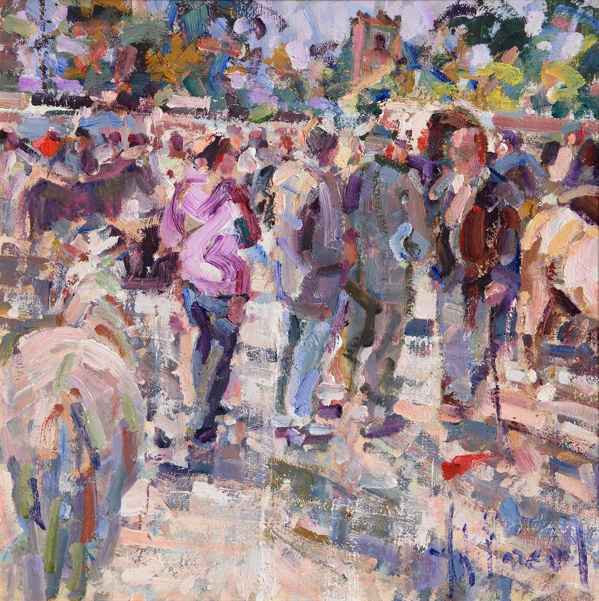 Arthur K. Maderson, Evening, Tallow Horse Fair at Morgan O'Driscoll Art Auctions