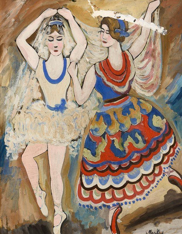 Markey Robinson, Ballerinas at Morgan O'Driscoll Art Auctions