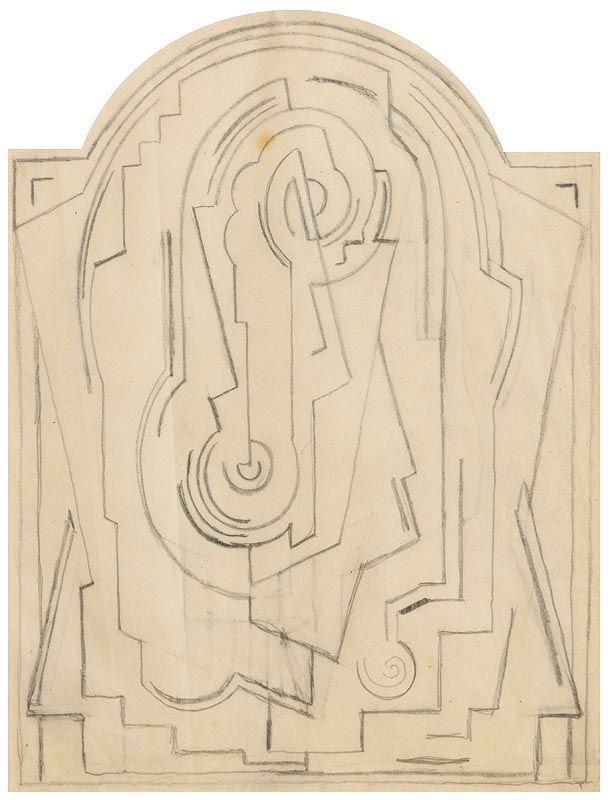 Mainie Jellet, Abstract at Morgan O'Driscoll Art Auctions
