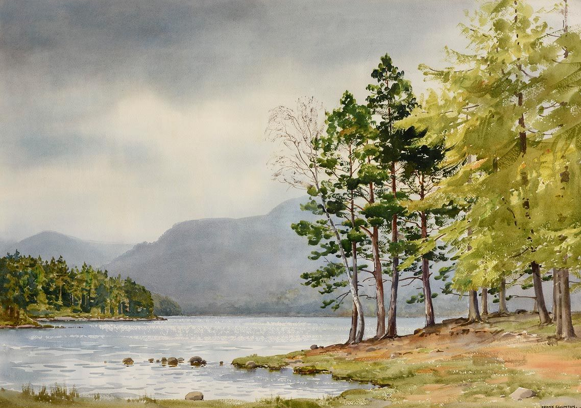 Frank Egginton, West of Ireland Landscape at Morgan O'Driscoll Art Auctions