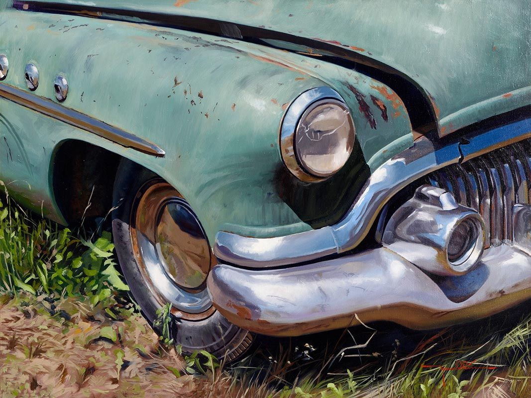 Mike Hamblin, 52 Buick Special at Morgan O'Driscoll Art Auctions