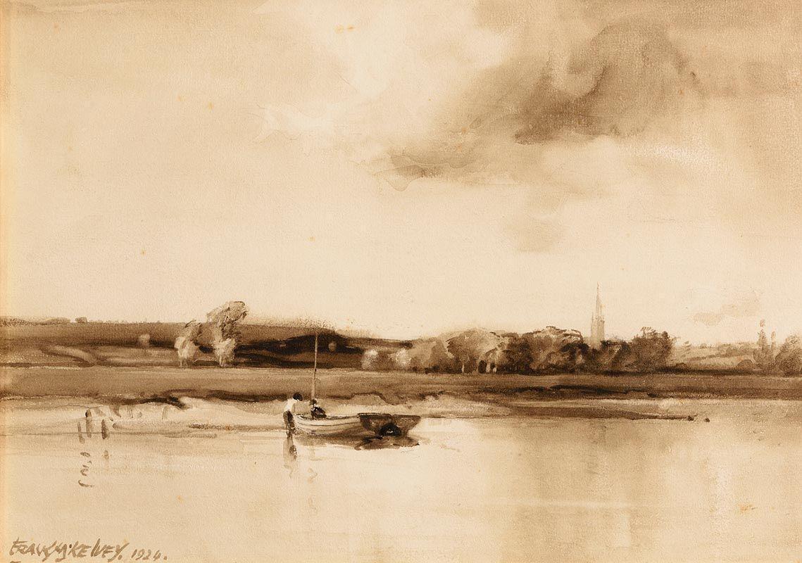 Frank McKelvey, Returning Home (1924) at Morgan O'Driscoll Art Auctions