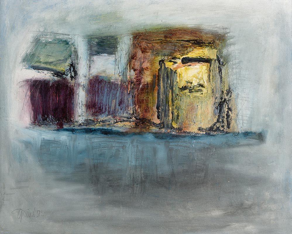 Gerald Davis, Dwelling (1984) at Morgan O'Driscoll Art Auctions