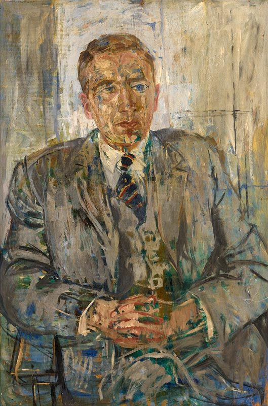 Basil Blackshaw, Portrait of a Gentleman at Morgan O'Driscoll Art Auctions