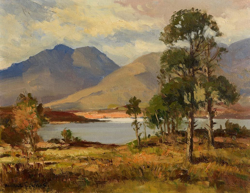 Maurice Canning Wilks, At Renvyle, Connemara (1960) at Morgan O'Driscoll Art Auctions