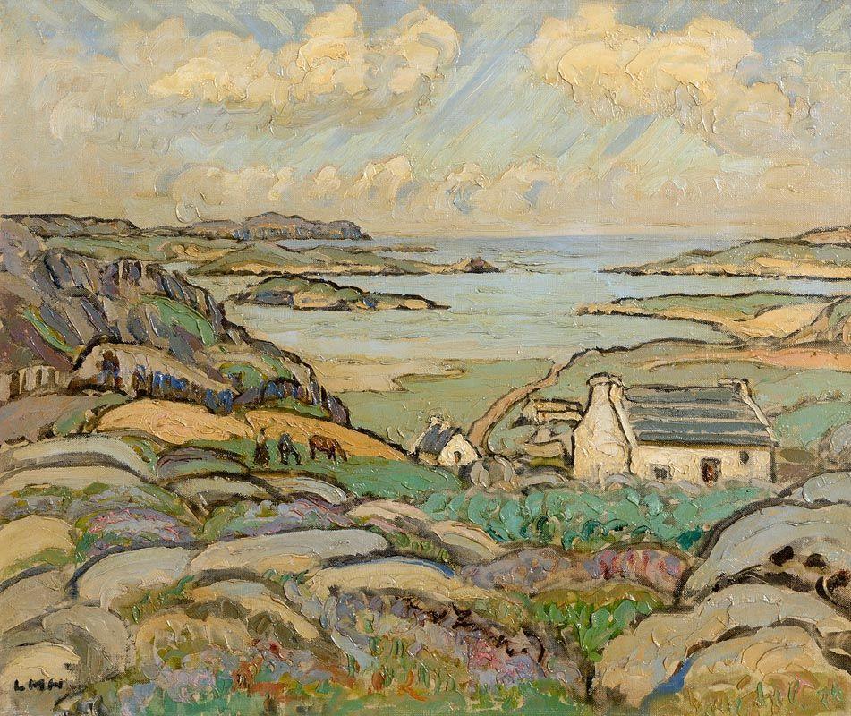 Letitia Marion Hamilton, Bunbeg, Co. Donegal (c.1949) at Morgan O'Driscoll Art Auctions