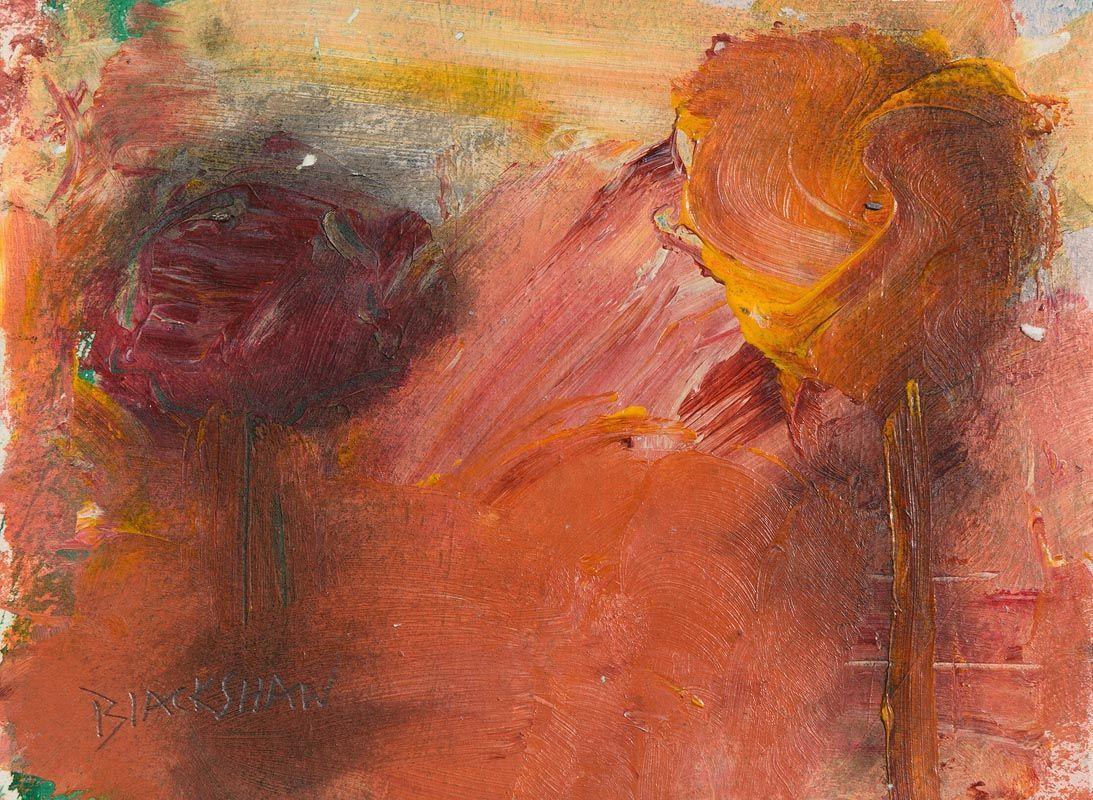 Basil Blackshaw, Trees in the Autumn Sunlight at Morgan O'Driscoll Art Auctions