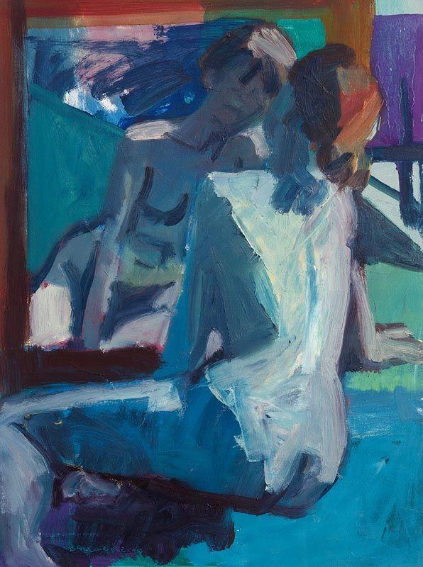 Brian Ballard, Girl in Mirror at Morgan O'Driscoll Art Auctions