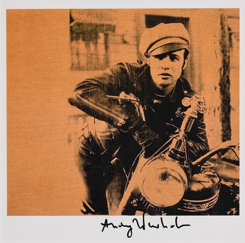 Andy Warhol, Marlon (1982) at Morgan O'Driscoll Art Auctions
