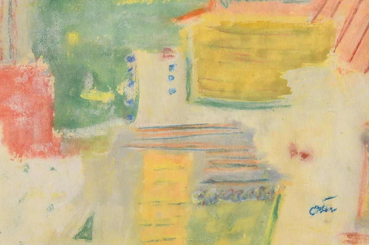 Tony O'Malley, Abstract Composition at Morgan O'Driscoll Art Auctions