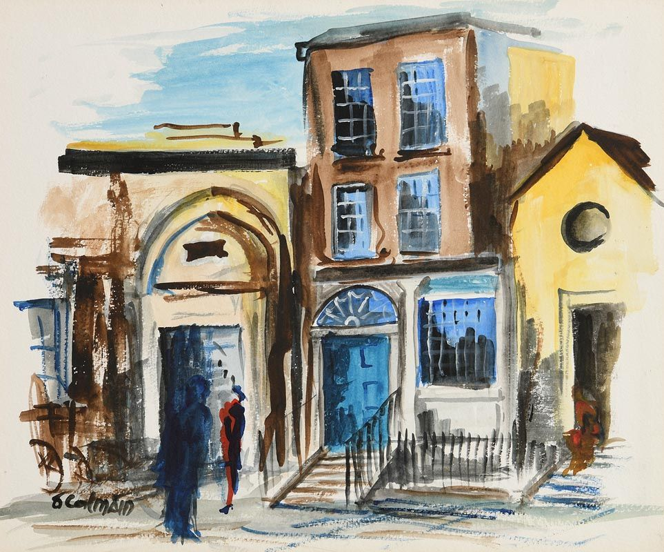 Seamus O'Colmain, Where Handel Played at Morgan O'Driscoll Art Auctions