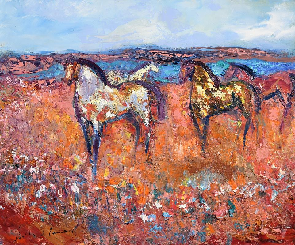 Declan O'Connor, Mona Rua (Red Bog) at Morgan O'Driscoll Art Auctions
