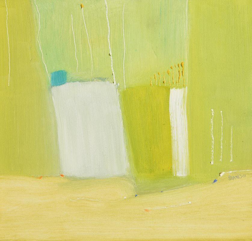 Mike Fitzharris, Still Life - Artist's Pots (2001) at Morgan O'Driscoll Art Auctions