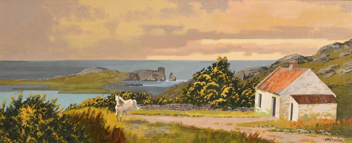 John Francis Skelton, The Runaway, Howth Head at Morgan O'Driscoll Art Auctions
