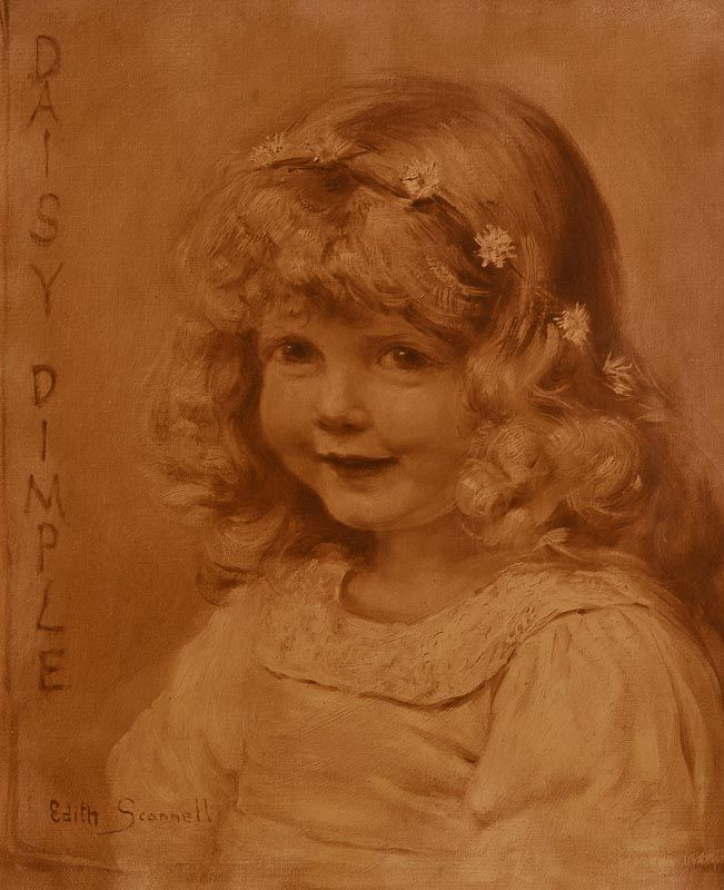 Edith Scannell, Daisy Dimple at Morgan O'Driscoll Art Auctions