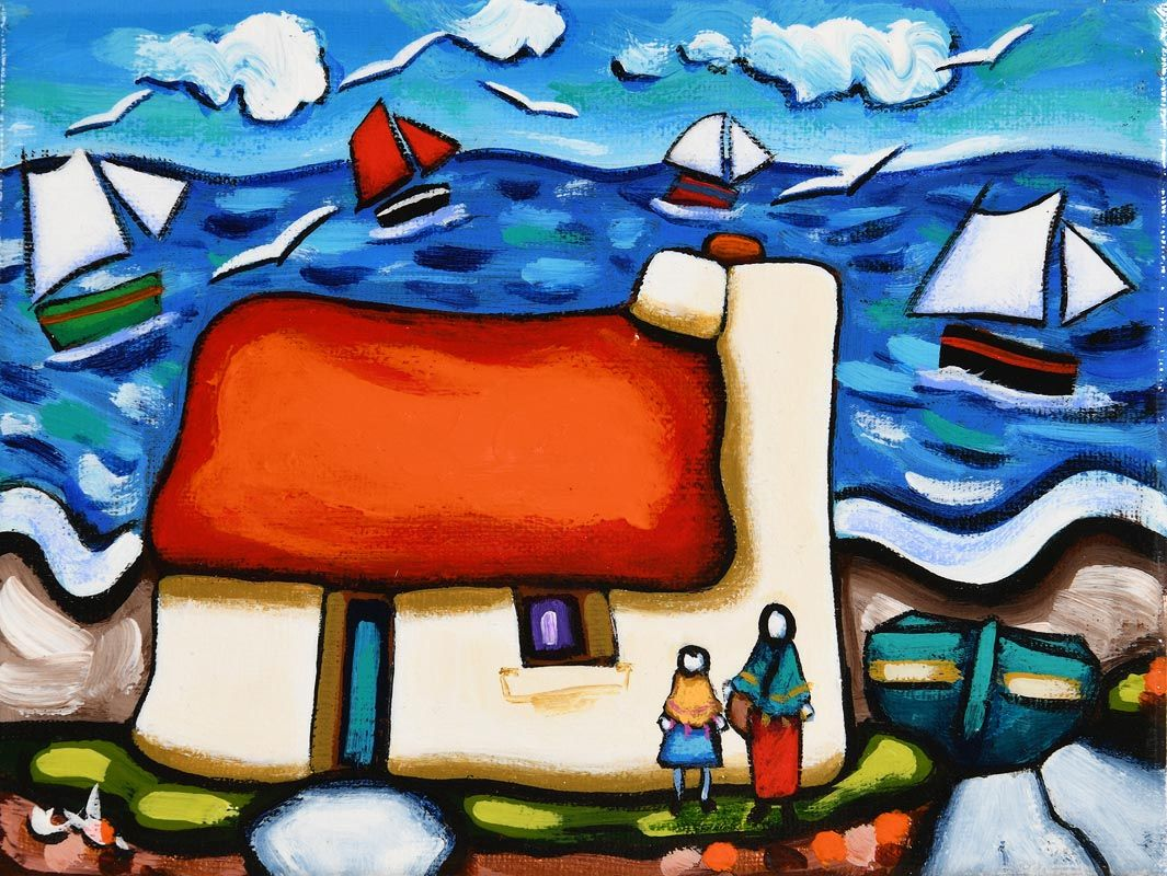 Annie Robinson, Our Cottage Home at Morgan O'Driscoll Art Auctions