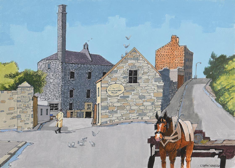 John Skelton, Old Kilmainham, Dublin at Morgan O'Driscoll Art Auctions