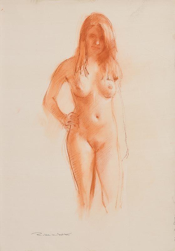 Robert Wraith, Female Nude at Morgan O'Driscoll Art Auctions