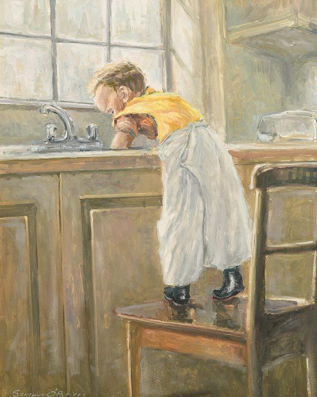 Senan O'Brien, A Helping Hand at Morgan O'Driscoll Art Auctions