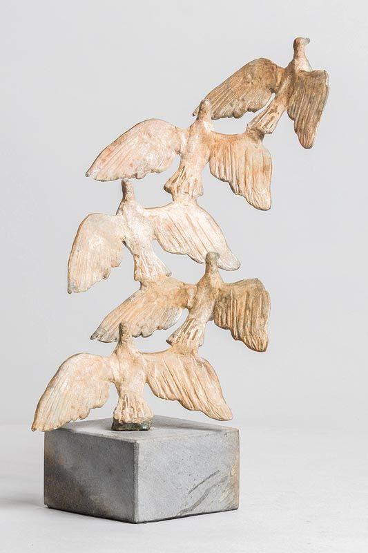 John Behan, Flight of Birds at Morgan O'Driscoll Art Auctions