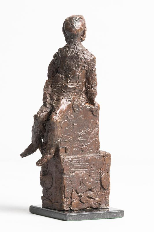 Melanie Le Brocquy, Boy Looking Upwards (1998) at Morgan O'Driscoll Art Auctions