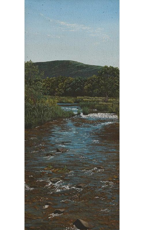Martin Gale, The Meandering Stream (1977) at Morgan O'Driscoll Art Auctions