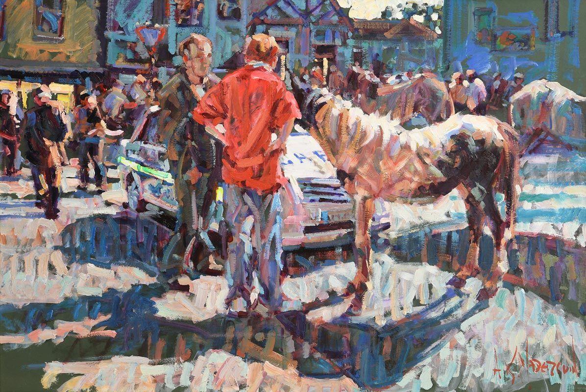 Arthur K. Maderson, Reflected Sunlight at Morgan O'Driscoll Art Auctions