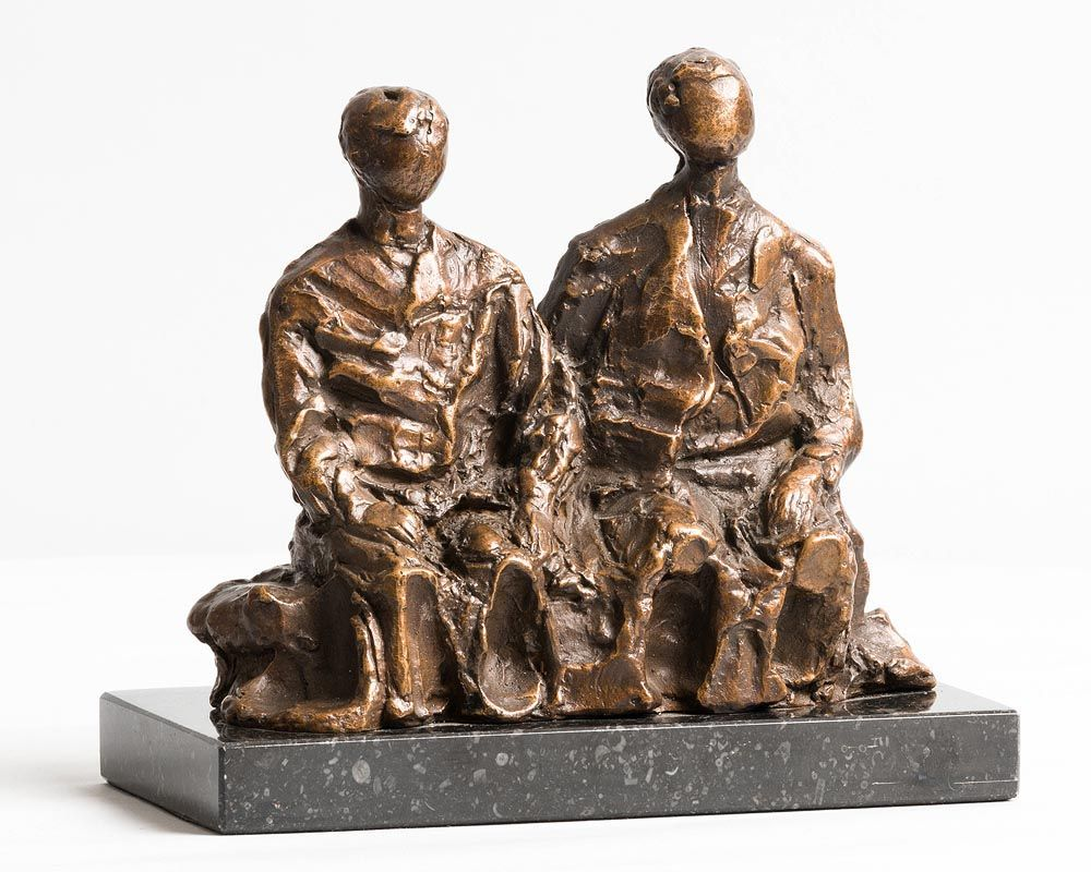 Melanie Le Brocquy, Brothers (1985) at Morgan O'Driscoll Art Auctions