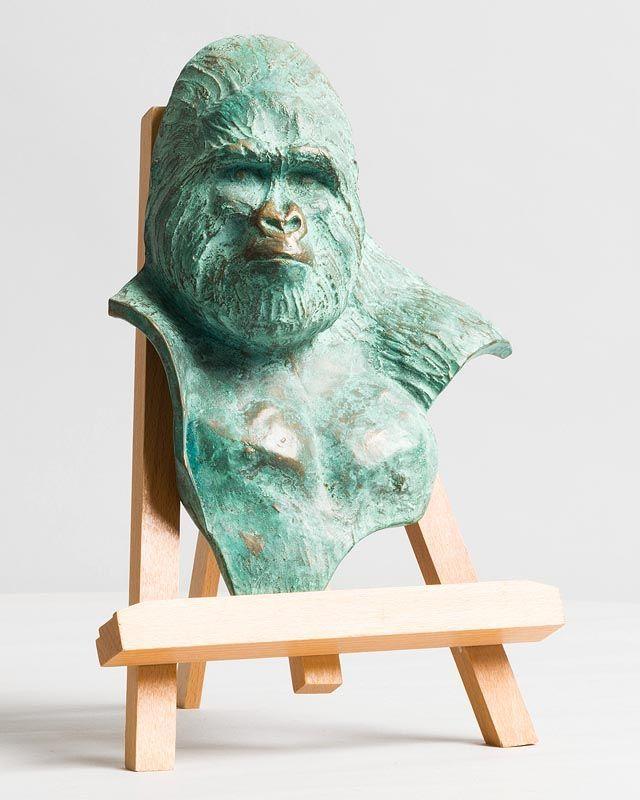 Sylvie Icher, Gorille Portrait (2018) at Morgan O'Driscoll Art Auctions