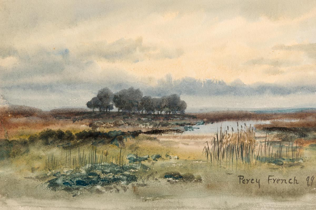 Percy French, Connemara Landscape (1899) at Morgan O'Driscoll Art Auctions